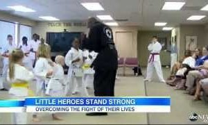 Rabbi With Black Belt In Karate Helping Sick Kids Fight Cancer!