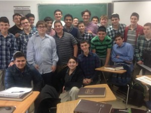 NY 10th-graders help raise $2.4m. for Har Nof victims