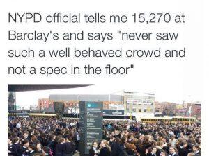 NYPD Impressed by 15,000 Bais Yaakov Girls