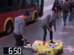 Jewish Boys Help a Distressed Spongebob!